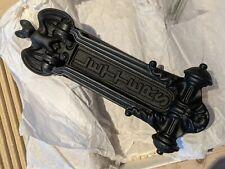 More details for a kenrick design bat letterbox knocker victorian