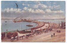 Southampton, The Pier PPC, Clifton 1906 PMK, Tuck Oilette