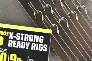 """GURU 6"""" READY RIGS / X STRONG / LWG / F1-PELLET / KAIZEN - COARSE / CARP FISHING"""