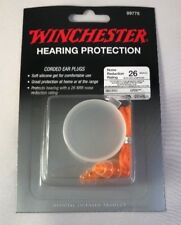 WINCHESTER HEARING PROTECTION Corded Ear Plugs 26dB NEW Shooting Range 99776