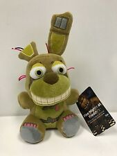 "Five Nights At Freddy's SPRINGTRAP 8"" PLUSH AUTHENTIC FUNKO USA SELLER"