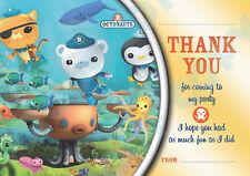 OCTONAUTS Pack of 10 THANK YOU CARDS Kids Children birthday