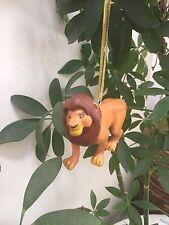 "Disney Lion King Adult Simba Christmas Tree Holiday Ornament PVC Figure 4"" ~ New"