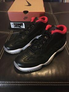 Nike Air Jordan Retro 11 Low IE Bred 2021 Men's Size 8.5 919712-023