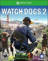 NEW Watch Dogs 2 Standard Edition (Microsoft Xbox One, 2016)