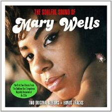 Mary Wells The Soulful Sound Of 2-CD NEW SEALED Soul 2 Albums+Bonus Tracks