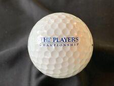 The Players Championship Titleist Logo Golf Ball
