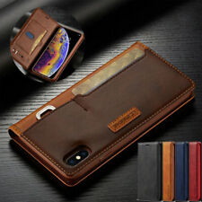 Case for iPhone 11 Pro MAX XR XS 6s 7 8 X Luxury Leather Flip Wallet Phone Cover