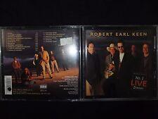 CD ROBERT EARL KEEN / N° 2 LIVE DINNER /