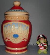 Pocket Dragon Dragons Cookie Pirate Jar with Figurine Rare