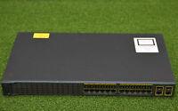 Cisco Catalyst WS-C2960+24TC-L 2960+ Series 24 Port Network Switch - 1 YrWty