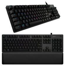 Logitech G513 teclado mecánico con cable-conmutadores Marrón GX-RGB Iluminado