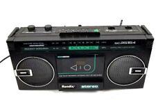 Randix SCR-5154 Boombox Vintage Radio Cassette Recorder AM/FM Stereo Tape Player