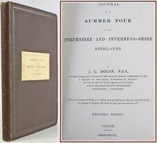 1898*SUMMER TOUR*SCOTCH HIGHLANDS:PERTHSHIRE & INVERNESS-SHIRE*SCOTLAND*