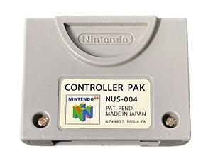 Genuine Nintendo 64 N64 Controller Memory Pack Card Pak Original
