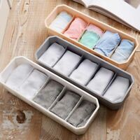 5Cells Organizer Tie Bra Socks Drawer Cosmetic Container Divider Storage Boxes