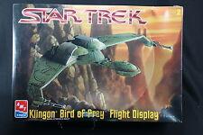 XI012 AMT 1/350 25x40 maquette avion 6339 Star Trek Klingon Bird of Prey Flight