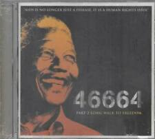 46664 Part 2 Long Walk To Freedom CD NEU Bono David A Stewart Nelson Mandela