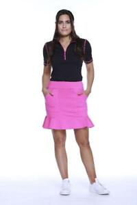 NWT Beth Depass Ladies XS pink Pull On Flippy Golf Tennis Skort New