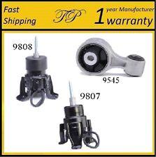 3 PCS FRONT & REAR MOTOR MOUNT FOR 2007-2012 Nissan Altima 3.5L - Automatic CVT