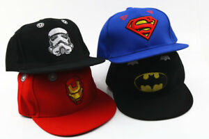 AVENGERS Boy Girl SUPERMAN Baseball Cap Kids Snapback Children SCHOOL Hat