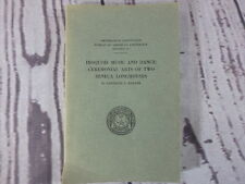 IROQUOIS MUSIC & DANCE 1964 Gertrude P. Kurath Smithsonian Bulletin 187