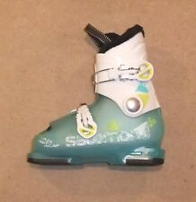 NEW SALOMON T2 GIRLY RT JUNIOR SKI BOOTS  SIZE 21  UK 2