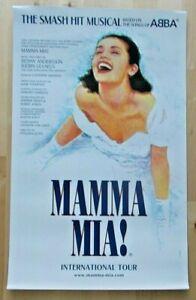 Mamma Mia! International Tour theatre poster 12.5x20 inches