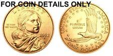 2002-P SAC $1 UNCIRCULATED BU SACAGAWEA GOLDEN DOLLAR 1 COIN   #2272