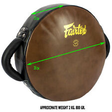 FAIRTEX LKP2 DONUT MUAY THAI ROUND SHAPE KICK PAD KICKING PADS MMA KICKBOXING