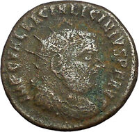 LICINIUS I Constantine I the Great enemy Ancient Roman Coin NUDE JUPITER i34794
