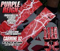 "NIKE RETRO JORDAN VI 6 ""CARMINE"" Custom Nike Elite Socks (ALL SZ) V2"
