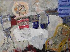 Marcel Saint-Jean - Huile sur toile - N m au fauteuil 1966 - Ecole Lyon(v)