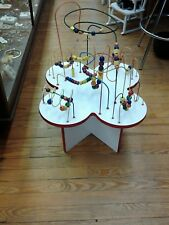 Anatex Fleur Rollercoaster Table with White Wood Legs Waiting Room Toys