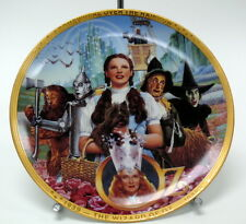 """Wizard of Oz """"Fifty Years of Oz"""" Hamilton Collector Plate 1989 0004P Md"""