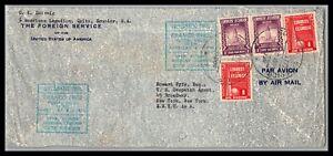 GP GOLDPATH: ECUADOR COVER 1941 AIR MAIL _CV699_P12