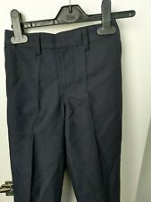 Ex-*andS Boys Supercrease Stormwear NAVY School Trousers    5//6 yrs  /&  6//7  yrs