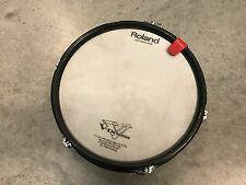 """DDRUM 10"""" Electronic Tom Trigger Pad (4 , se) with Roland V Drum Trigger head"""