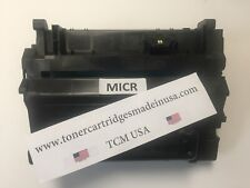 CC364A MICR OEM Alternative Toner for HP 4014,4015,4515. Made in USA. 64A MICR.