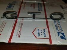 9775668 1964 1965 1966 67 PONTIAC GTO Rear 1/4 Panel GTO Emblem GM Nos Box12