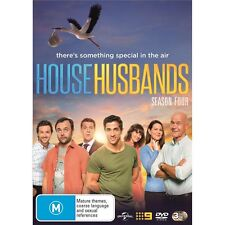 HOUSE HUSBANDS-Season 4-Region 4-New AND Sealed-3 Disc Set-TV Series