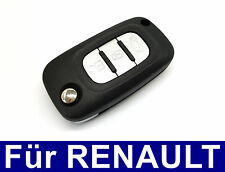 3tasten Spare FLIPKEY Flip Key Case for RENAULT CLIO Mode Twingo