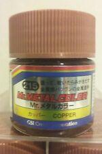 Mr Hobby acrylic paint Mr. Metal color MC-215 Copper 10ml.