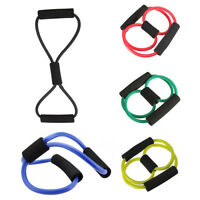 Yoga Resistance Training Muscle 8 Types Elastic Band Tube Weight Control Fitness