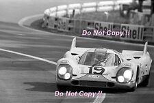 Richard Attwood & Herbert Muller Gulf Porsche 917 K Le Mans 1971 Photograph 2