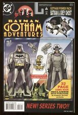 BATMAN GOTHAM ADVENTURES #3 / 1998 9.4 NM / GREY GHOST ACTION FIGURE CVR