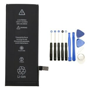 """1715mAh Internal Battery Replacement For Apple iPhone 6s 4.7"""" +Tool +Tapes"""