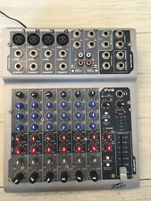 Peavey Pv8 Mixer / Mixing Board Audio Interface With power adapter
