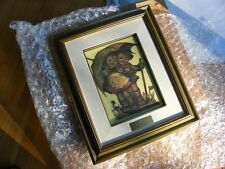 "*New Old Stock* 1981 HUMMEL LIMITED EDITION CANVAS ""SUNNY WEATHER"" FRAMED PRINT"
