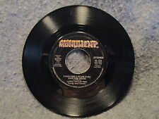 """45 RPM 7"""" Record Larry Gatlin Love Is Just A Game 1977 Monument Records 45-226"""